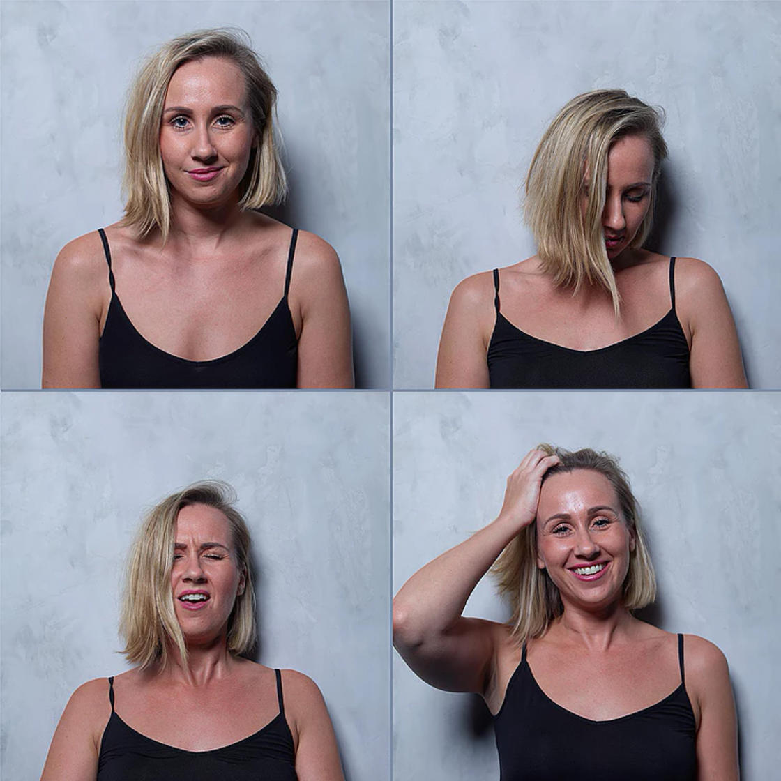The faces of women before, during, and after orgasm