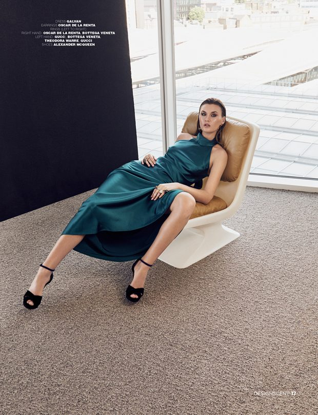 Achieve a luxurious, yet effortless look with this halterneck silk-satin gown from Galvan.  Style  i
