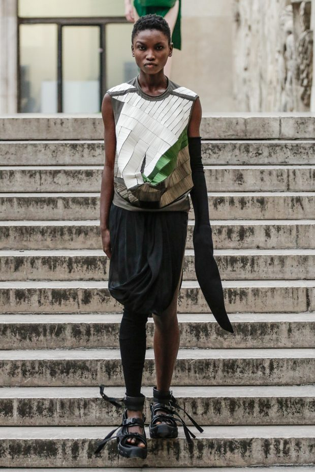 #PFW: Rick Owens Spring Summer 2018 Collection