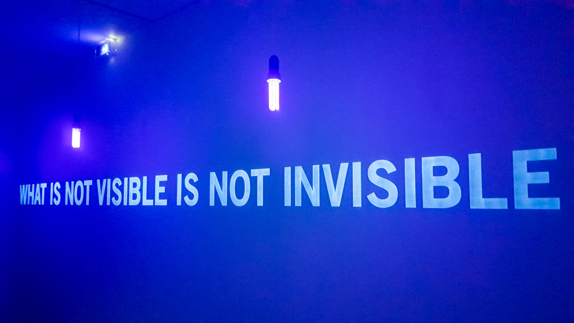 What is not visible is not invisible - Julien Discrit (MAC Lyon)