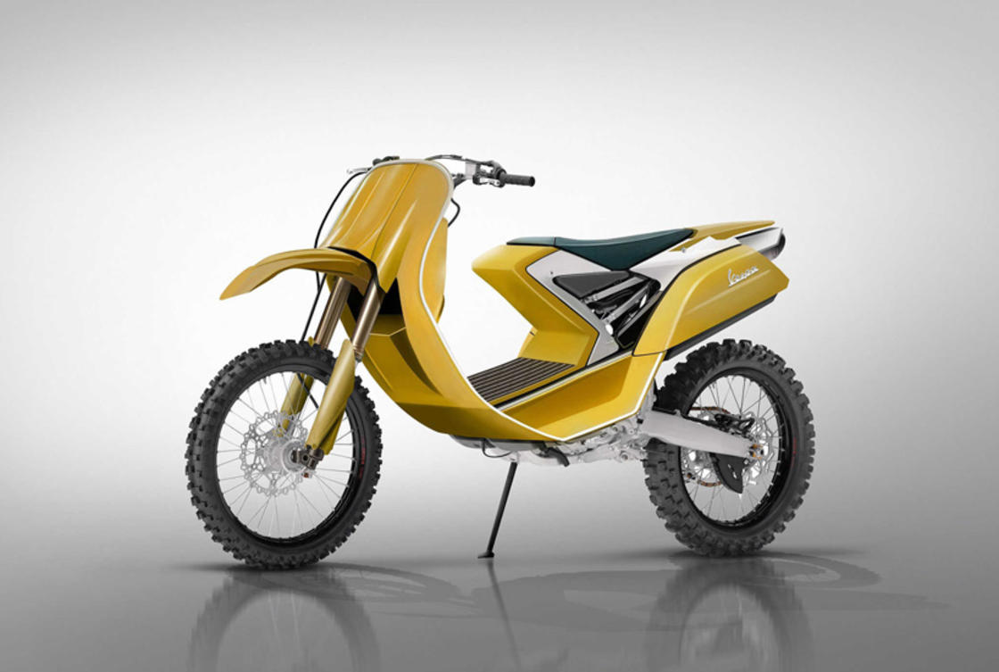 Vespa Dirt Bike