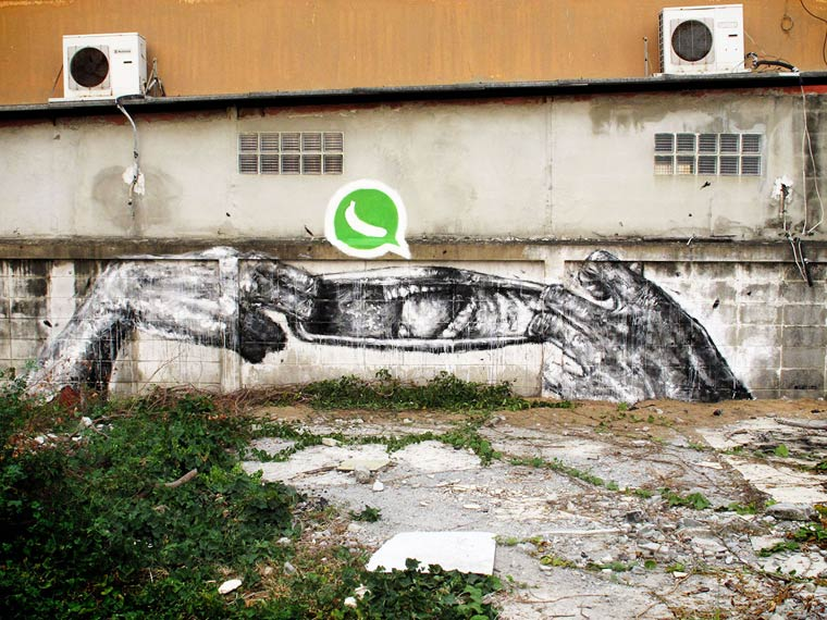 Street Art – The amusing creations by Sath