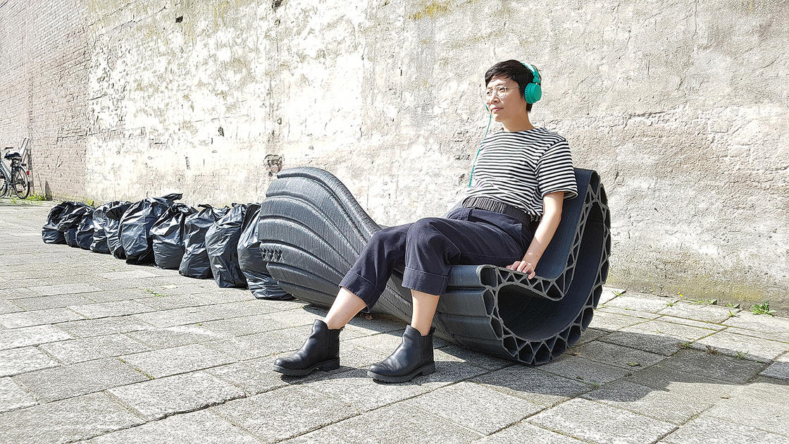 Print Your City – Turning waste into street furniture thanks to 3D printing (10 pics)