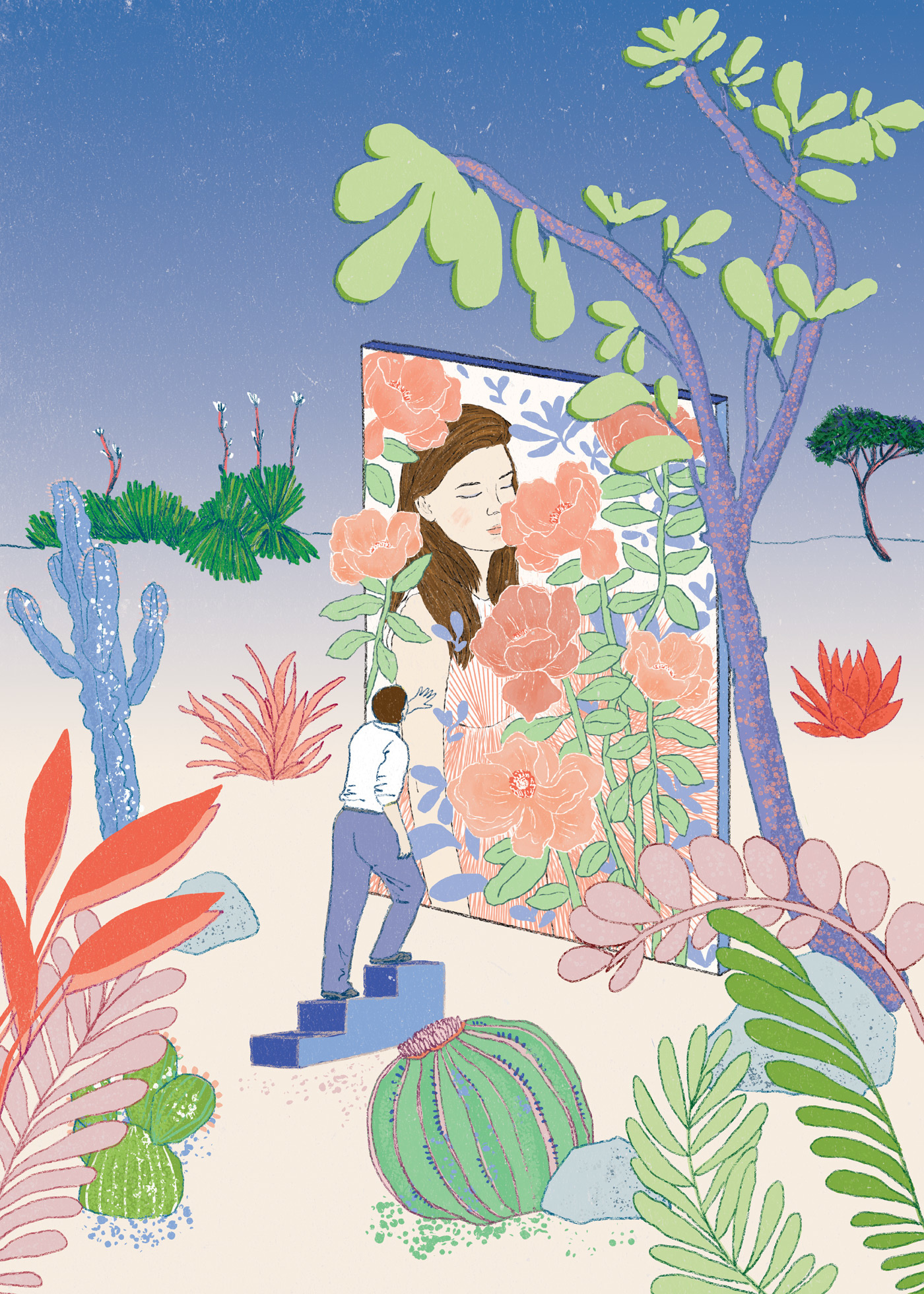 Whimsical Digital Illustrations Inspired by Nature
