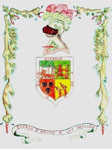 герб арагонской семьи Ангуло