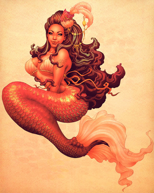 The Beautiful Pin-up Artworks by ONEQ