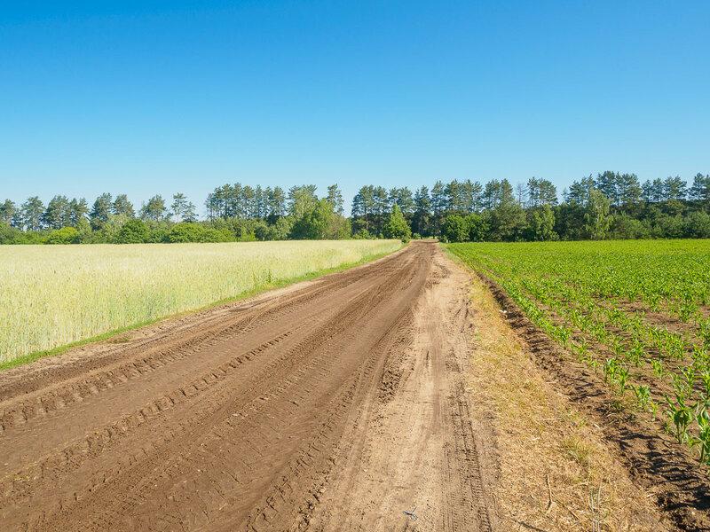 Колхозная дорога.