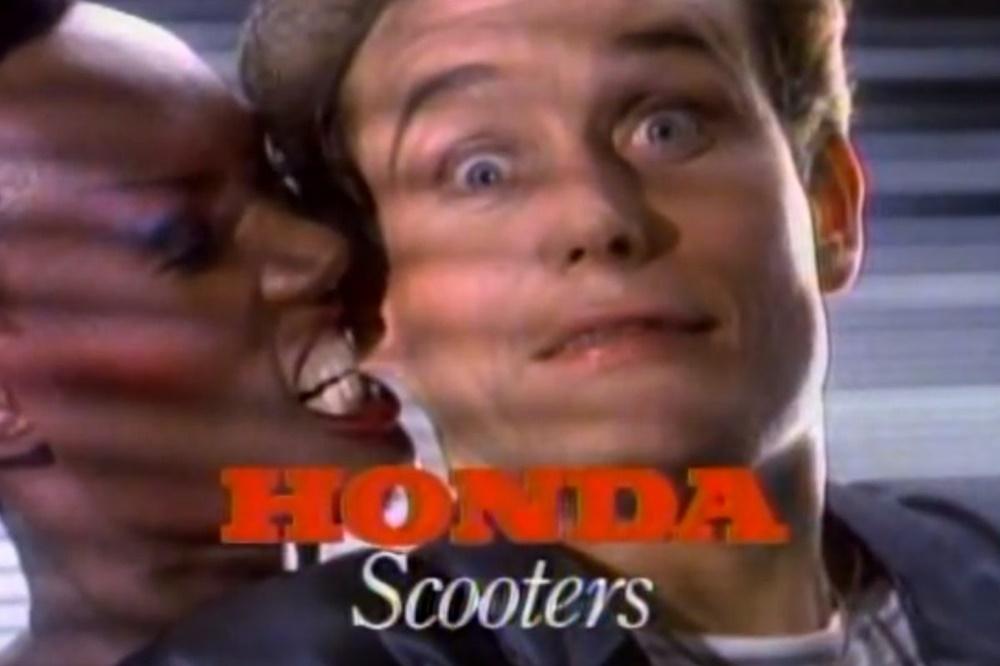 Старая реклама скутеров Honda (видео)