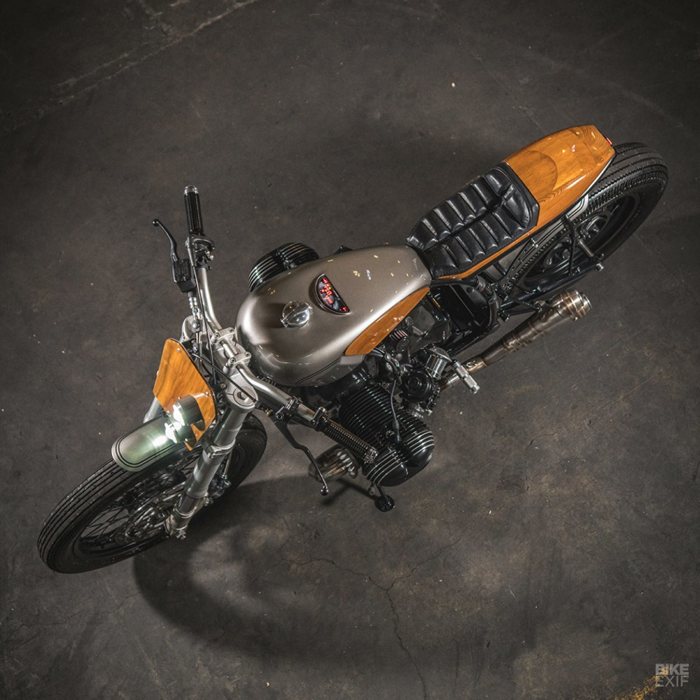 Ironwood Motorcycles: кастом BMW R75 Savage