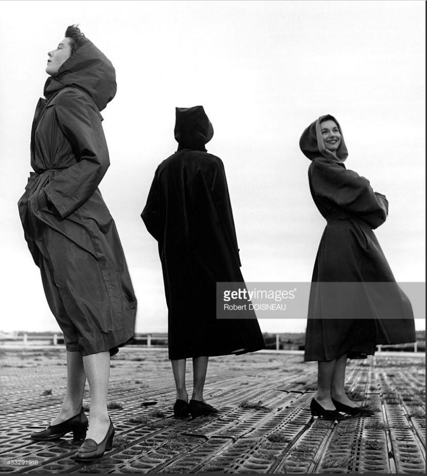 1949. Известная модель Беттина