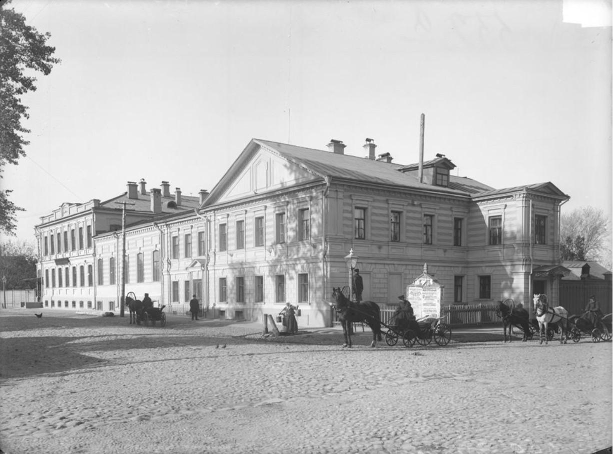 Губернская земская управа. Внешний вид здания