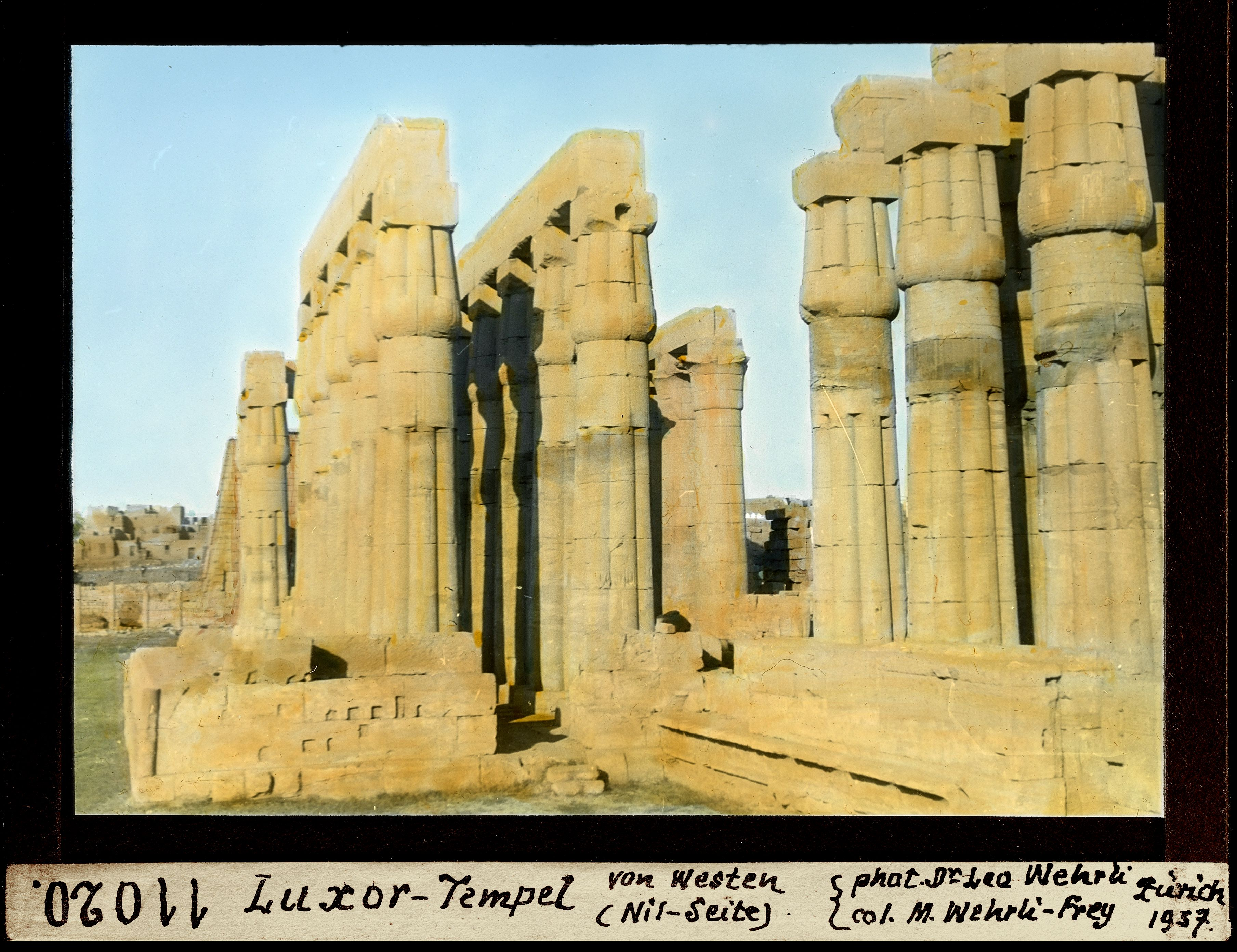 Луксорский храм с запада