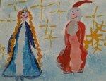 Рузов Тимур (рук. Зарубалова Оксана Владимировна ) - Дед Мороз и Снегурочка