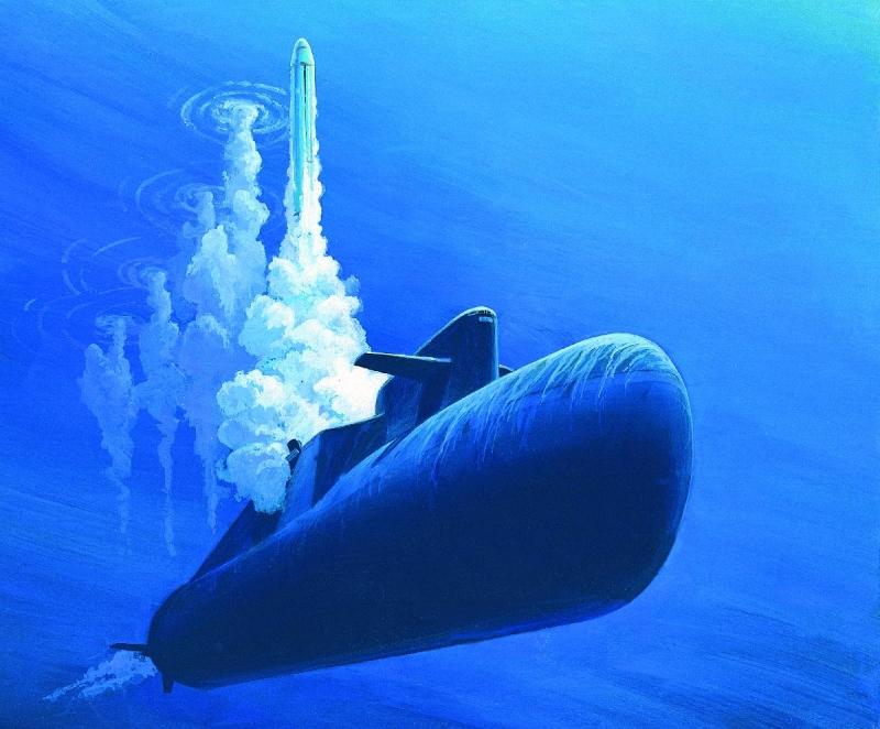 Великая страна СССР,Операция «Бегемот»,залп 16 ракетами с подводной лодки
