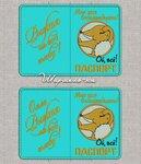 ЭСКИЗЫ для вышивки обложки на паспорт