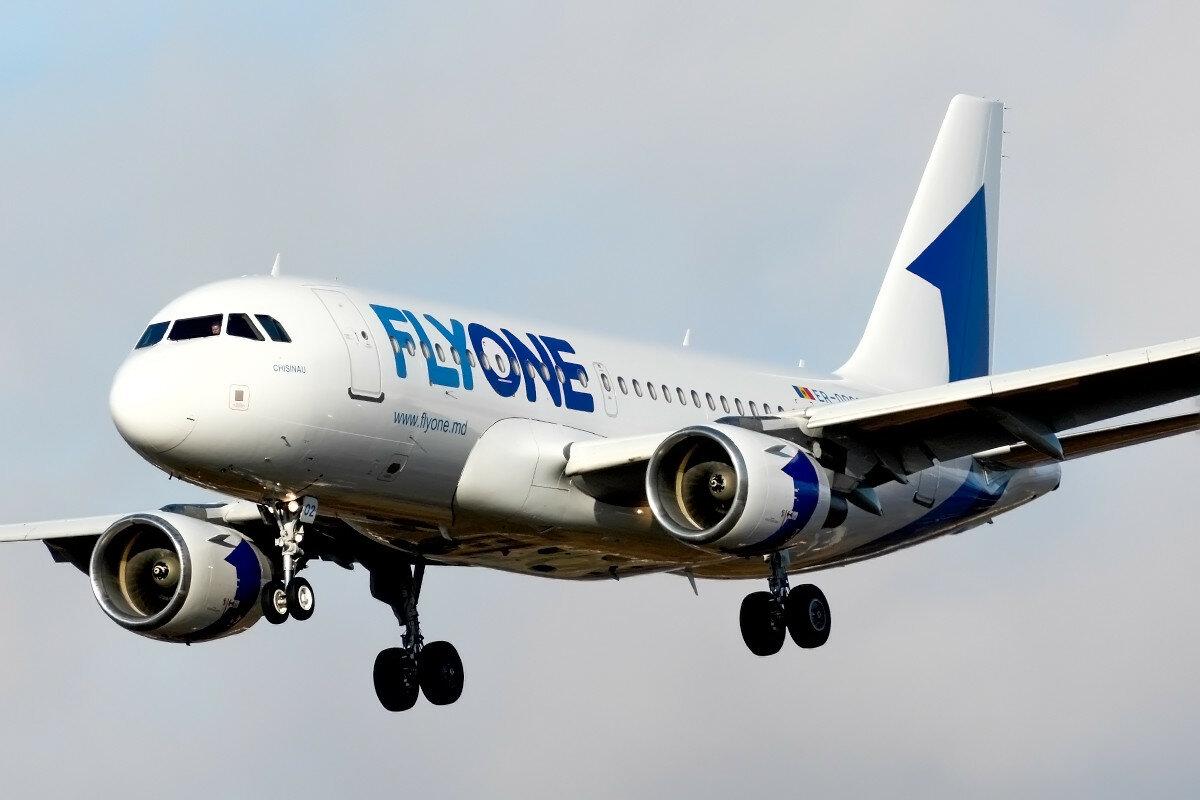 Airbus A319-112.  FlyOne. ER-00002.