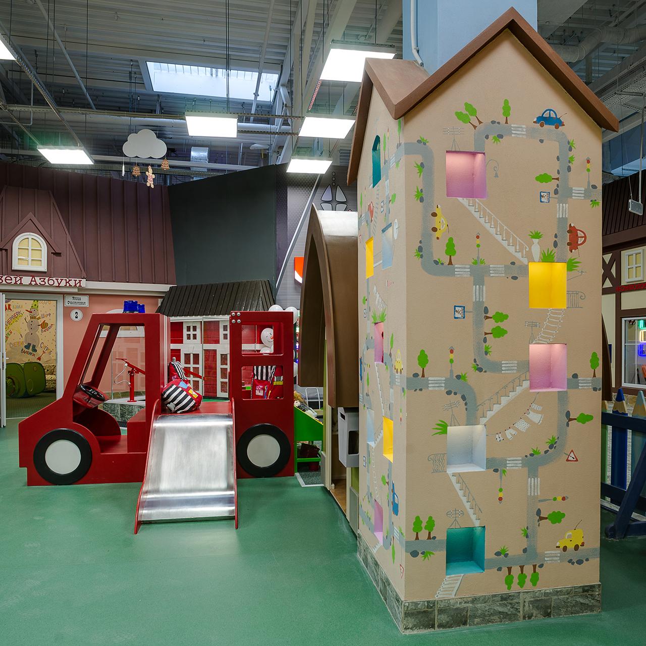 детские площадки и развлечения для семьи