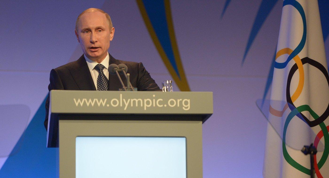 19.10.2017 19:16 Недопуск России к ОИ нанесет урон олимпийскому движению, но не выборам в РФ - Путин