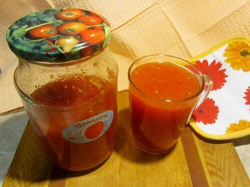 Свой томатный сок