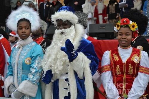 Из-за шествия Дедов Морозов вцентре Рязани перекроют движение