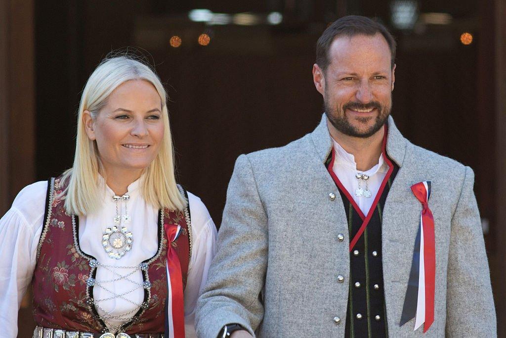 Метте-Марит Тьессем Хёйби, кронпринцесса Норвегии   Метте-Марит встретила кронп