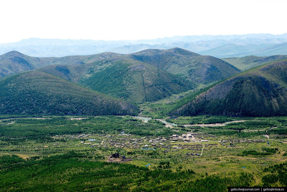 15. Усть-Нера является центром Оймяконского улуса (района) Якутии. Именно Оймякон называют самым хол