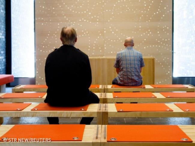 © STR New/Reuters     Верующие втюрьме  Хальден  могут молиться вспециал