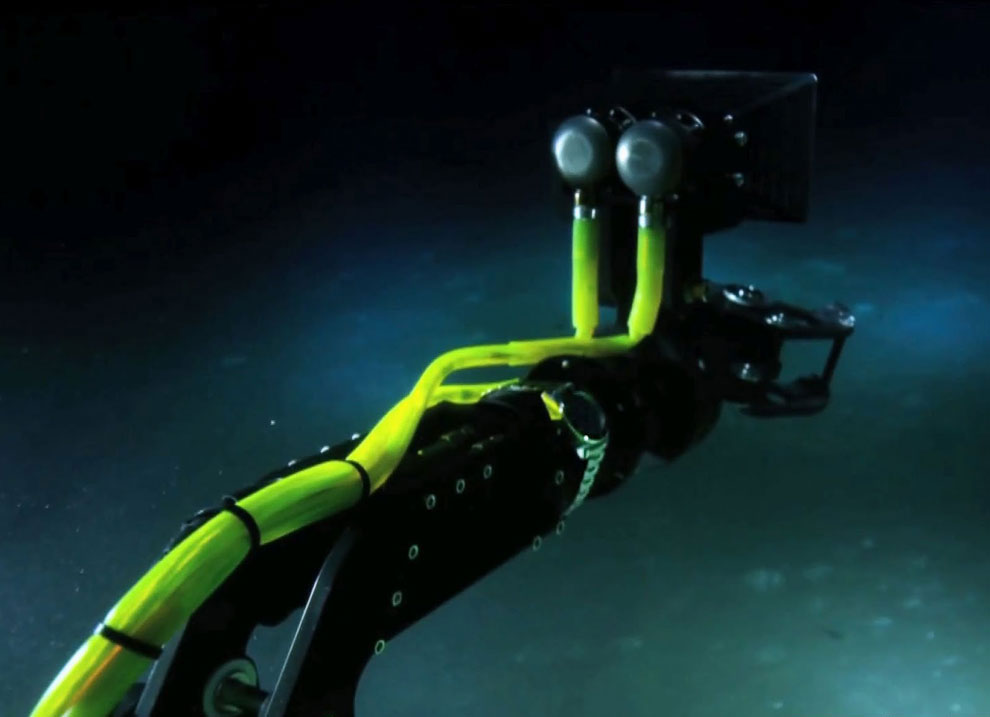 Однако, подводная экспедиция прошла не совсем удачно. Из-за неисправности  металлических «рук