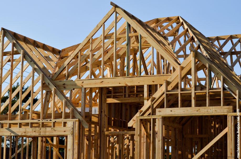 25. Стоит заметить, что все древесные материалы для постройки домов предварительно обрабатываются оп