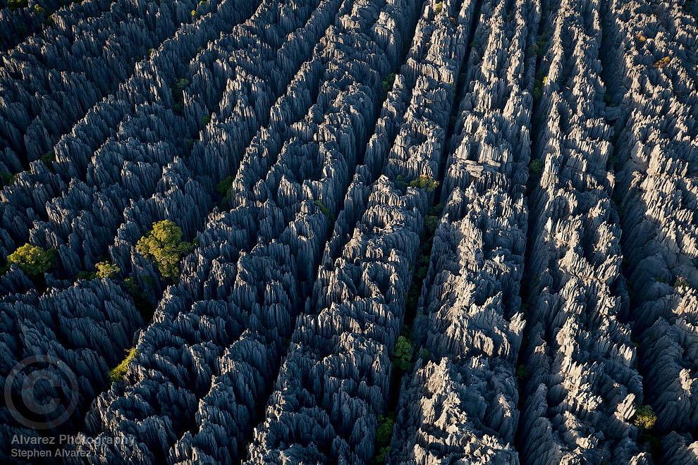 Образующие знаменитый «Каменный лес» карстовые ландшафты образовывались тысячами лет. Воды размывали