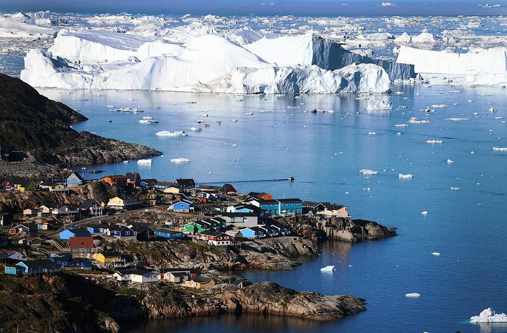 Остров Гренландия (34 фото)