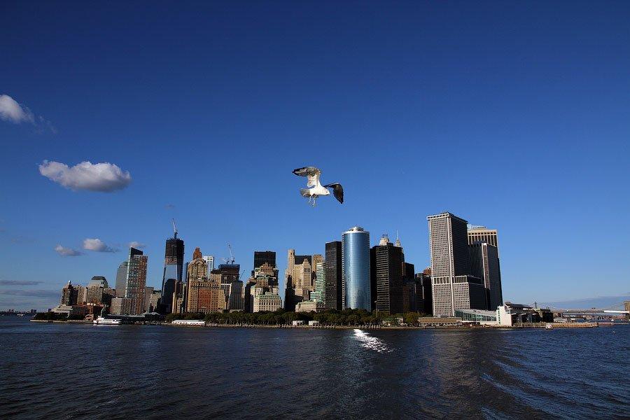 После небольшой прогулки по нижней части острова Манхэттен  продолжаем изучать Нью-Йорк