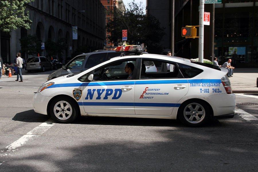 Полицейские микроповозки. После Ford Crown Victoria выглядит странно. Хотя я уверен, что на этом мож