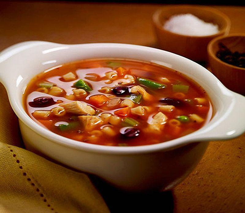 Солянка   Мясо разных сортов + что-нибудь кислое = суп? Так победим.