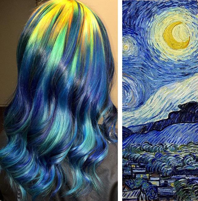 Эксперименты Урсулы Гофф: красота на волосах (19 фото)