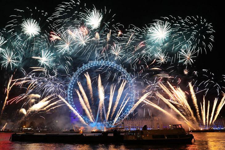 1. Встреча Нового года в Пекине, Китай. (Фото Lintao Zhang):