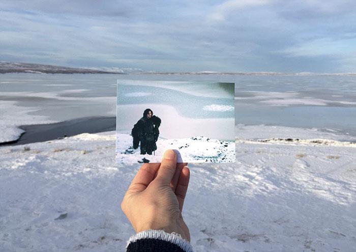 Окрестности удивительного озера стали местом за Стеной, куда отправился Джон Сноу на поиски своего п