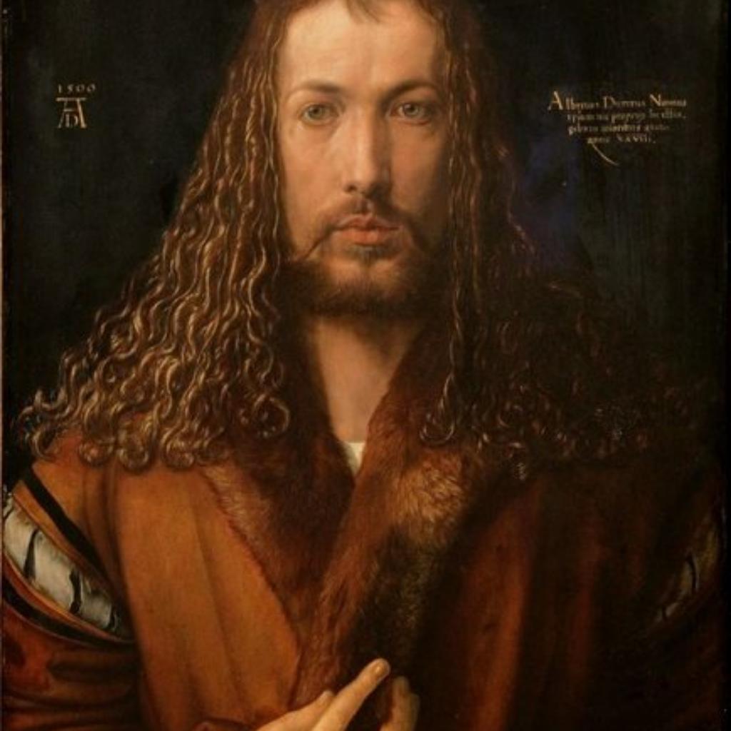 Лицу преданы божественные, иконографические черты. Художнику на время написания было 28 лет. В то вр