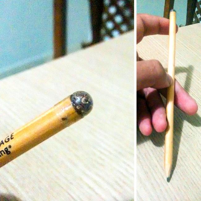 © ImFreakingAlefi/reddit.com     Когда карандаш станет слишком коротким для письма, его м