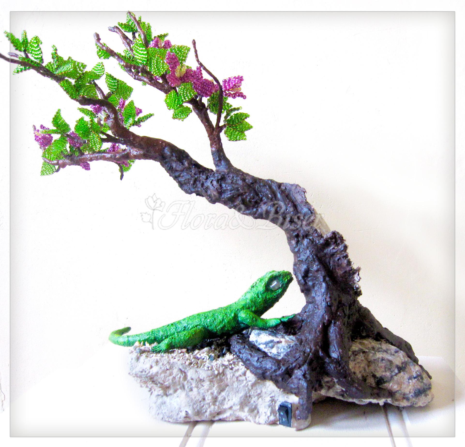 покраска деревца