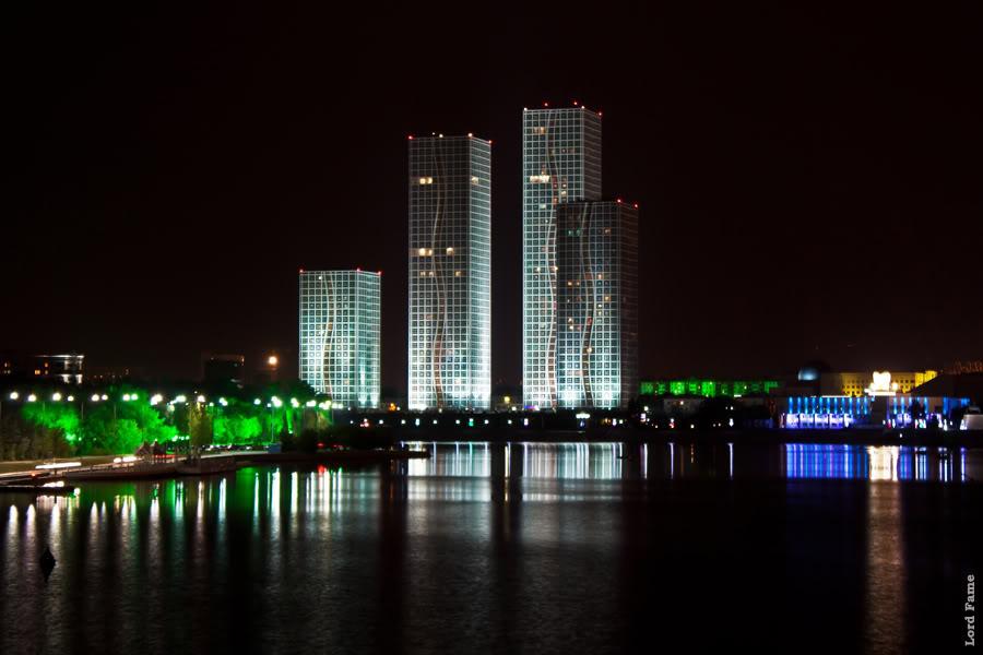 Астана Ночная