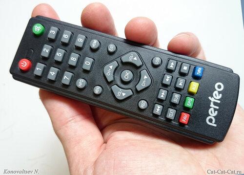 Пульт (ПДУ) DVB-T2-ресивер Perfeo PF-T2-1