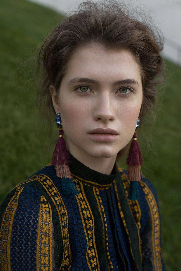 Dress: 405Story Earrings: Zara