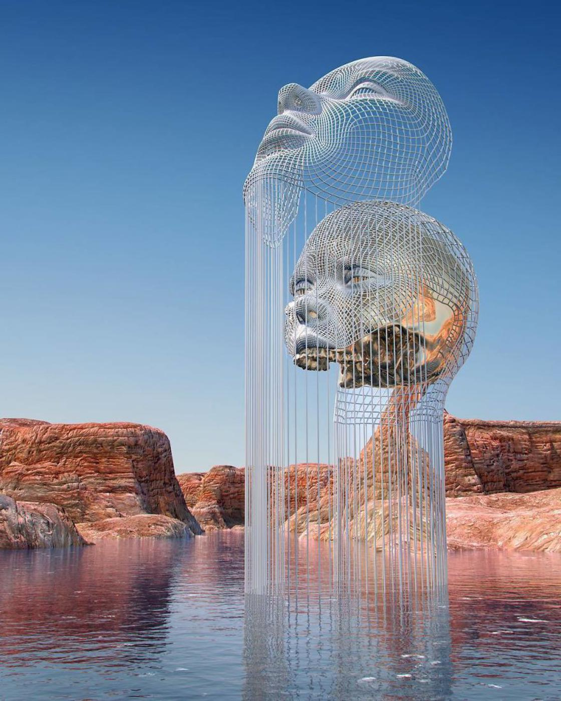 Mirage – The amazing virtual sculptures by Chad Knight