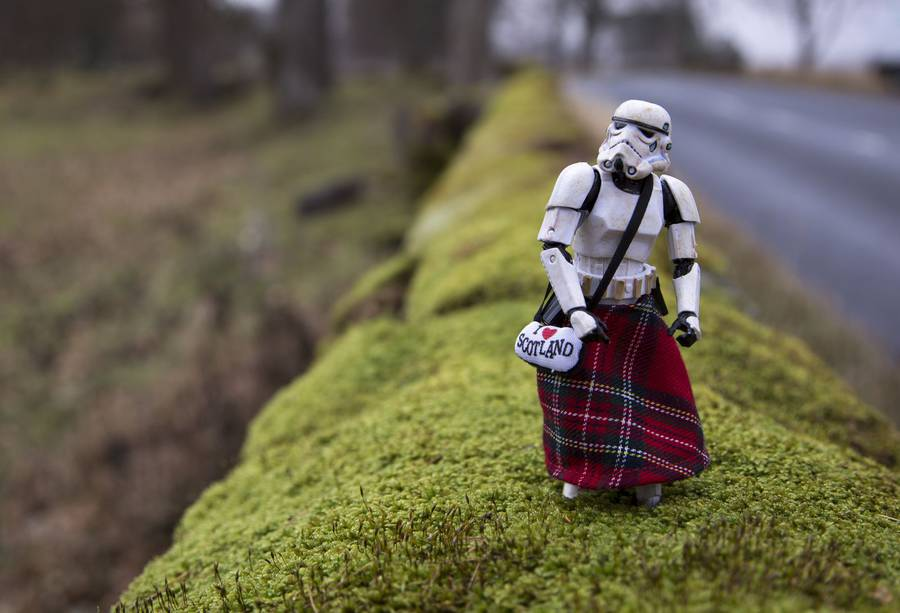 The Civilian Life of a Star Wars Stormtrooper