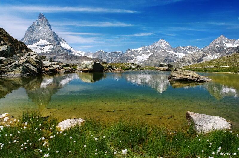 гор немая красота