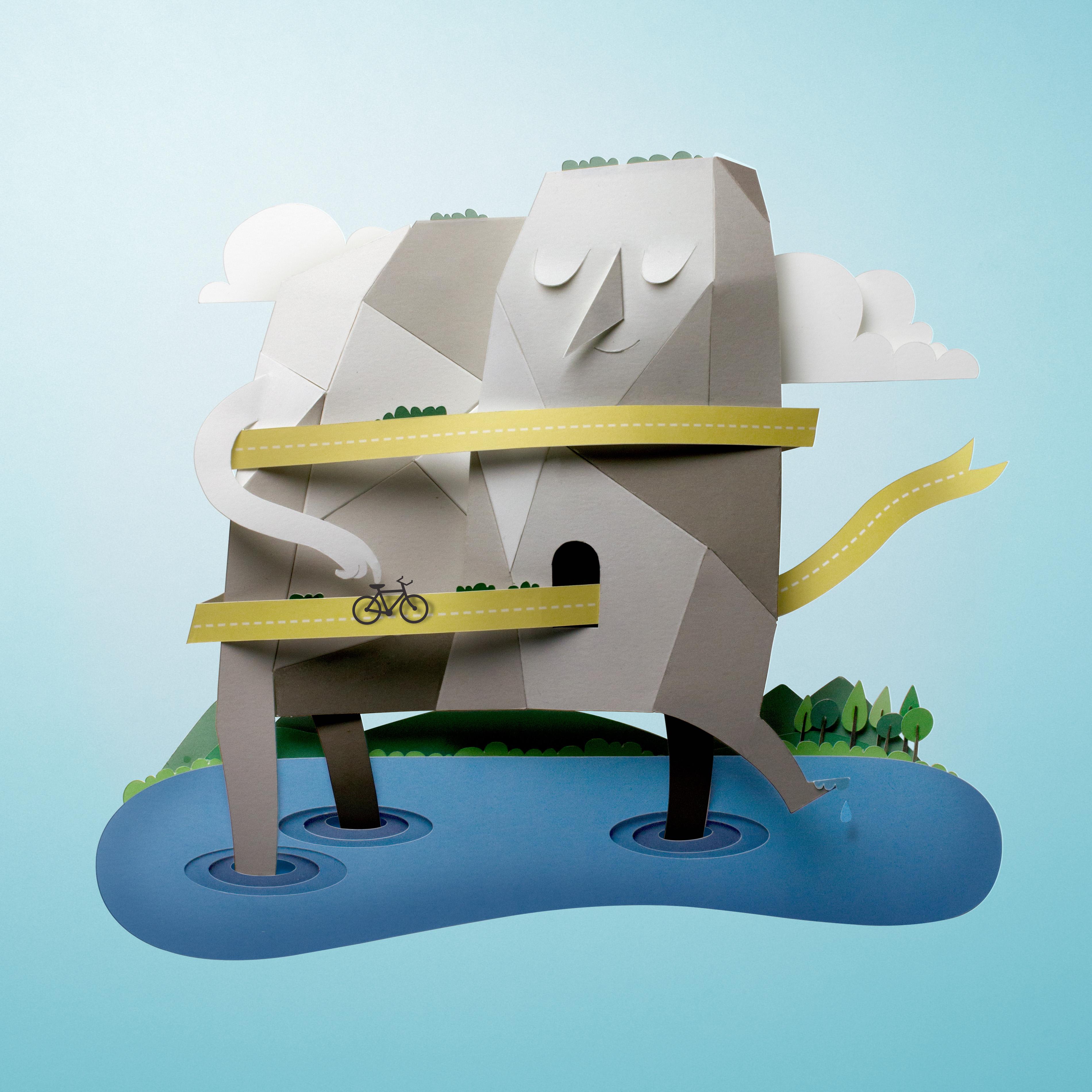 Super Creative Paper Collages
