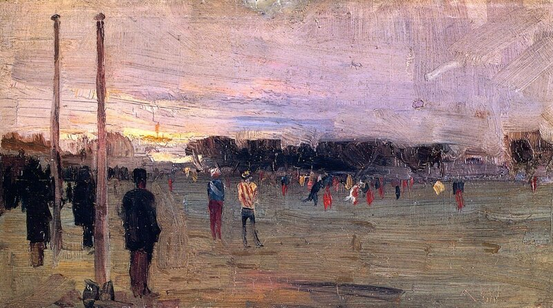 The National Game.1889