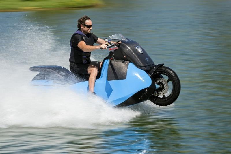 Скутер-амфибия Gibbs Biski