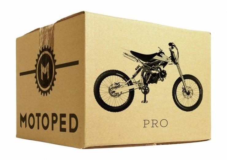 Современный мопед Motoped Pro
